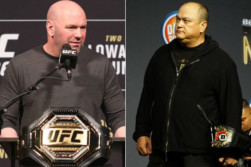 Дана Уайт посмеялся над высказыванием Кокера о том, что полутяжелый дивизион Bellator сильнее, чем в UFC