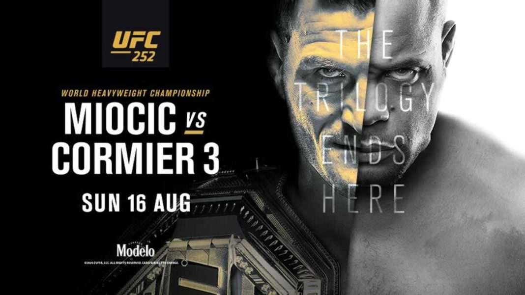 Результаты турнира UFC 252: Миочич - Кормье 3