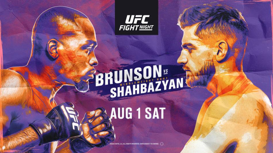 Результаты турнира UFC Fight Night 173: Брансон - Шахбазян