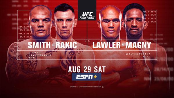 Результаты турнира UFC Fight Night 175: Смит - Ракич