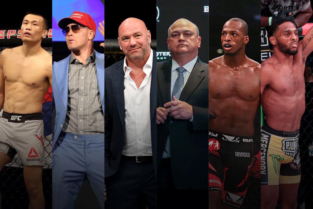 UFC против Bellator.