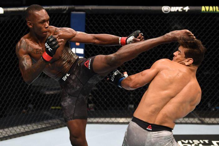 Результаты UFC 253: Адесанья финишировал Косту и остался чемпионом среднего веса
