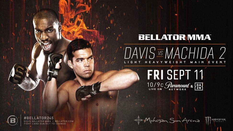 Результаты турнира Bellator 245: Дэвис - Мачида 2