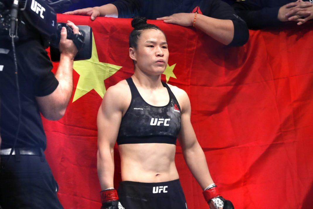 UFC готовит титульный бой между Вейли Жанг и Роуз Намаюнас