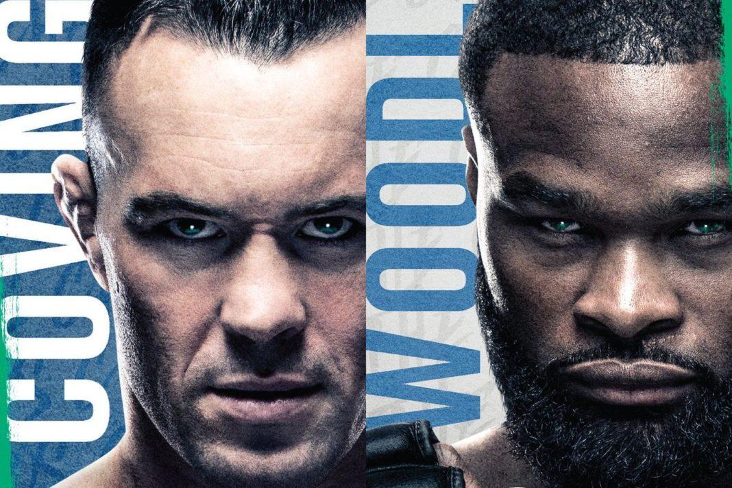 Кард турнира UFC Fight Night 178: Ковингтон - Вудли