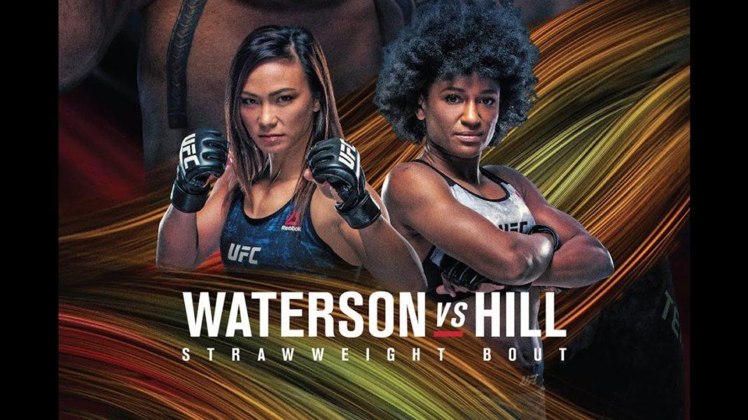 Кард турнира UFC Fight Night 177: Уотерсон - Хилл