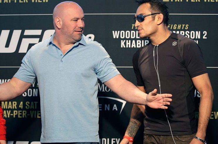 Дана Уайт объяснил, почему запасным бойцом на UFC 254 станет Чендлер, а не Фергюсон