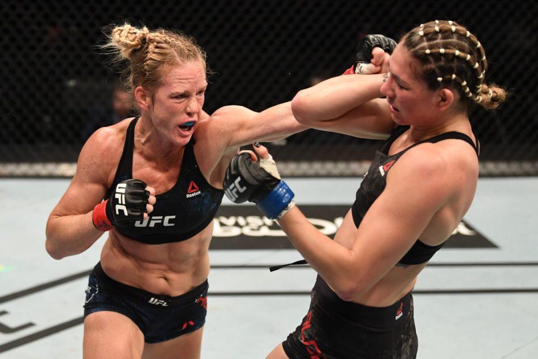 Результаты турнира UFC on ESPN 16: Холм - Алдана