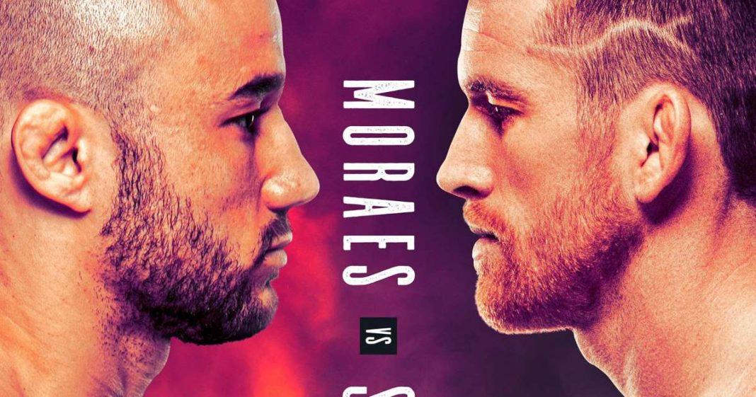 Кард турнира UFC Fight Night 179: Мораес – Сандхаген
