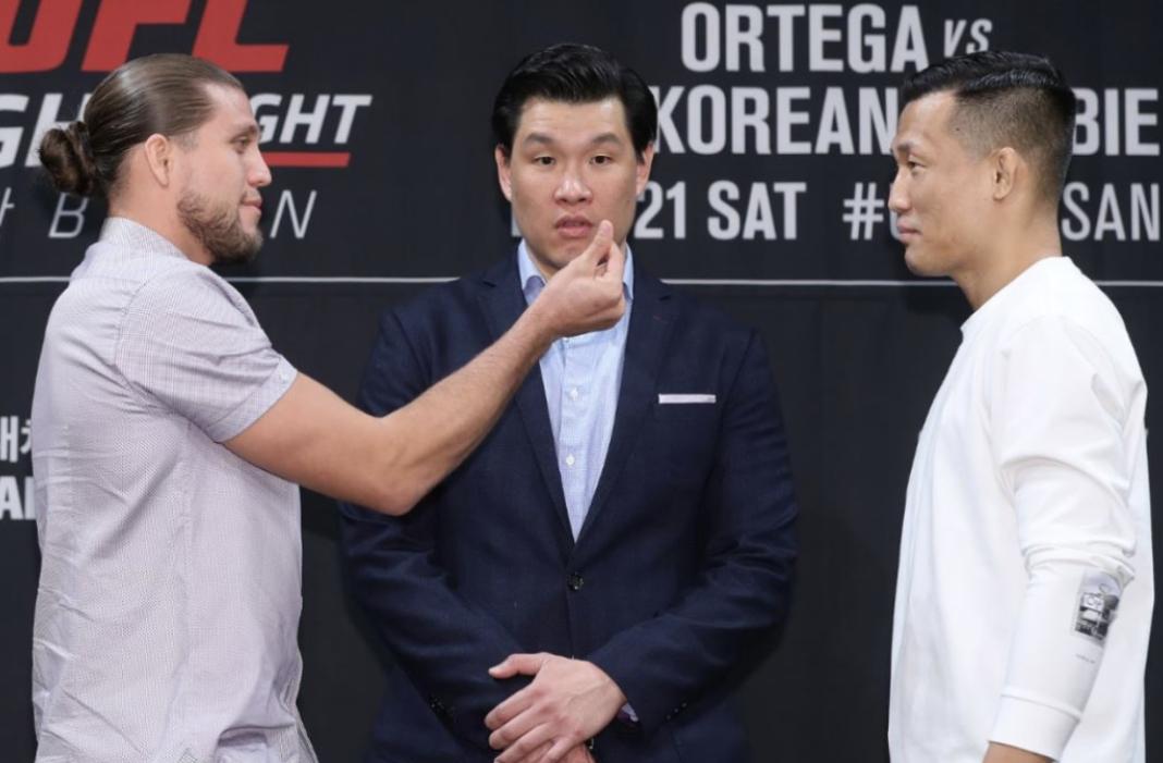 Победитель боя Ортега - Корейский Зомби получит титульный бой