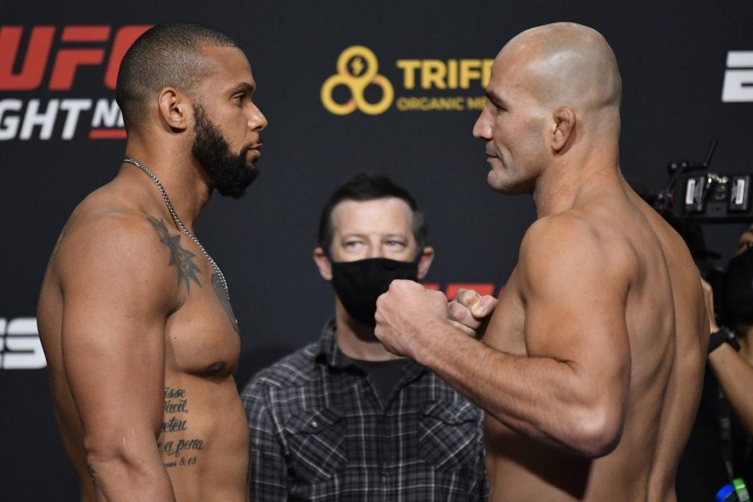 Результаты турнира UFC on ESPN 17: Сантос - Тейшейра