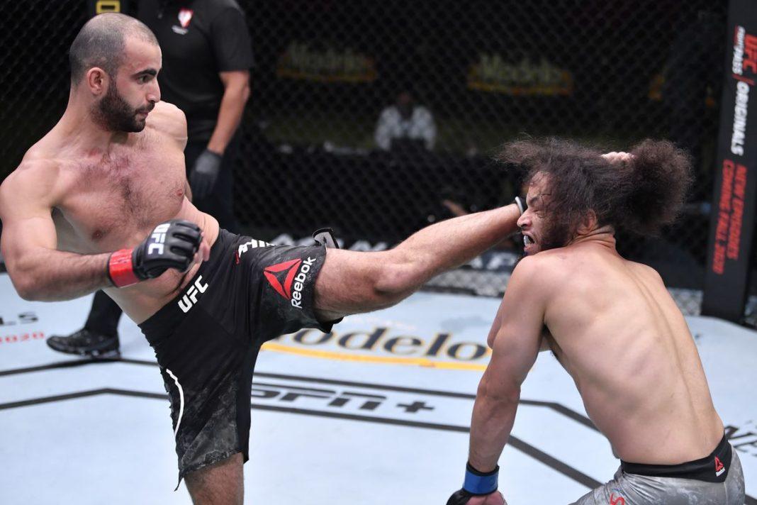 Гига Чикадзе попросил бой с Джереми Стивенсом после победы на UFC в Лас-Вегасе