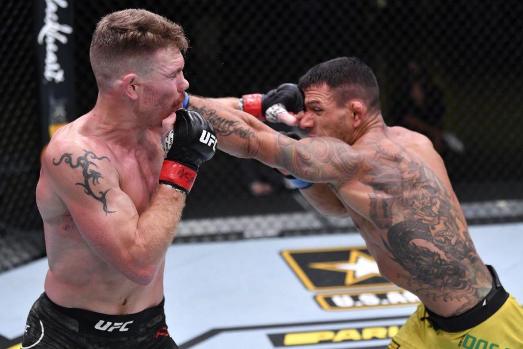 Результаты турнира UFC Fight Night 182: Фелдер - Дос Аньос