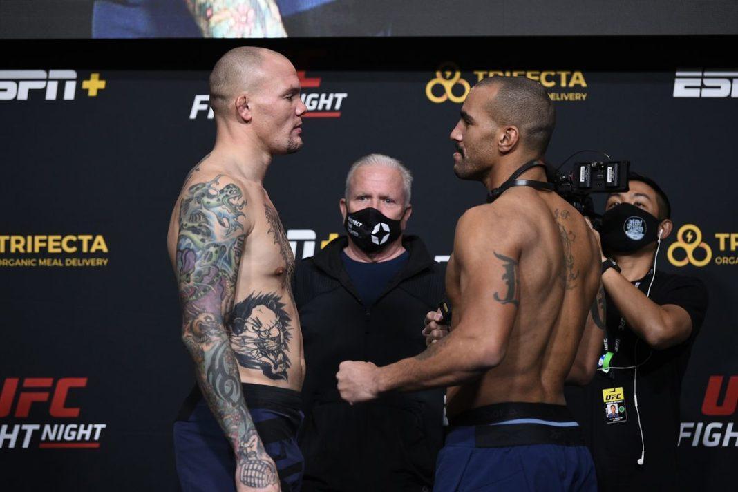 Результаты турнира UFC on ESPN 18: Смит - Кларк