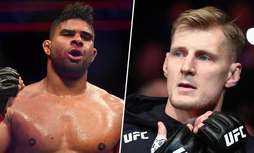 Александр Волков подерется с Алистаром Оверимом в главном событии турнира UFC 6 февраля