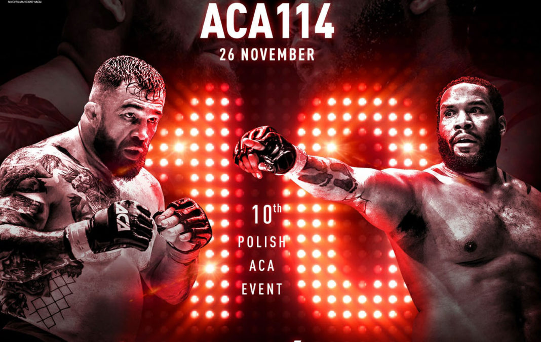 Кард турнира ACA 114: Омельянчук - Джонсон