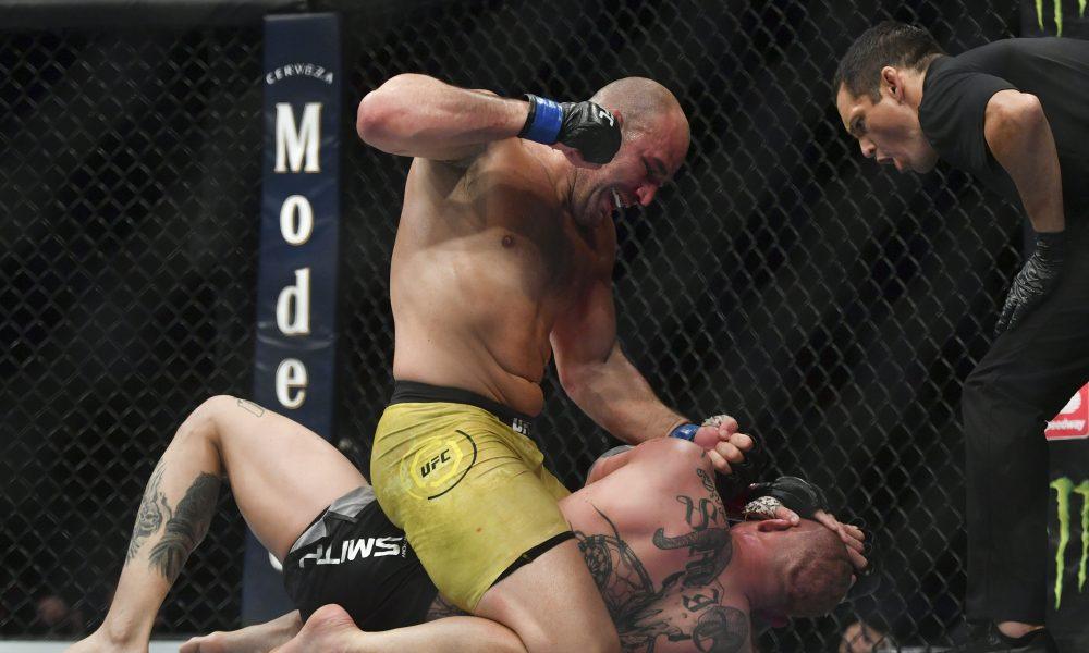 Результаты UFC on ESPN 17: Гловер Тейшейра финишировал Тиаго Сантоса