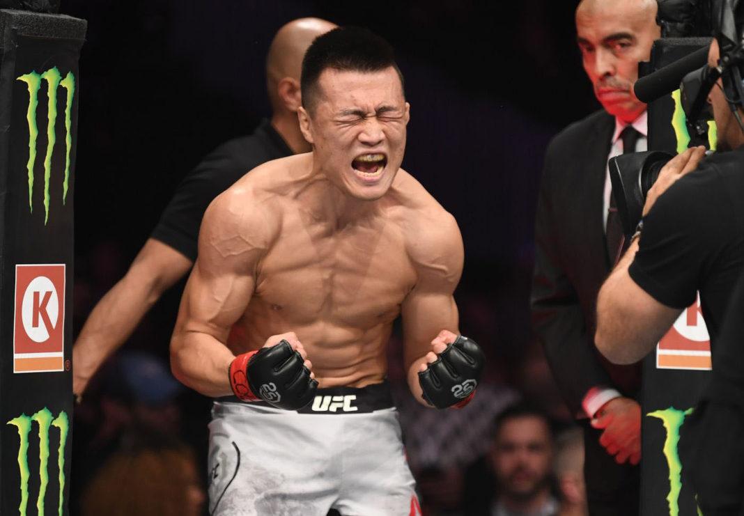 Корейский Зомби нацелен на бой с Забитом Магомедшариповым