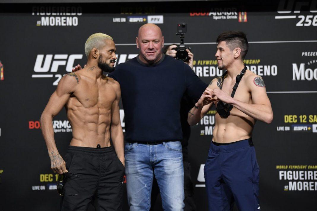 Результаты турнира UFC 256: Фигередо - Морено, Фергюсон - Оливейра