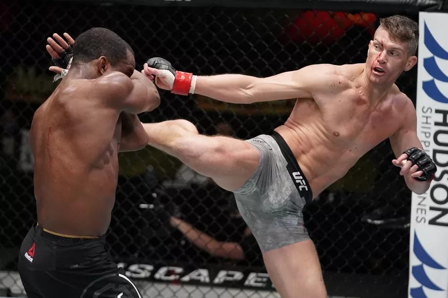 Результаты турнира UFC Fight Night 183: Томпсон - Нил