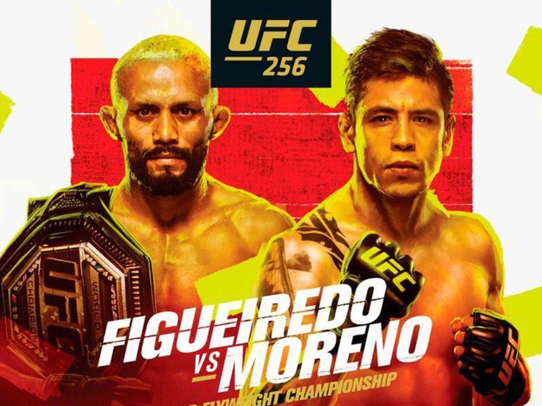 Кард турнира UFC 256: Фигередо - Морено