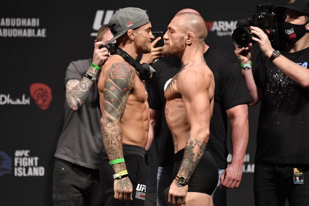 Результаты турнира UFC 257: Порье - Макгрегор
