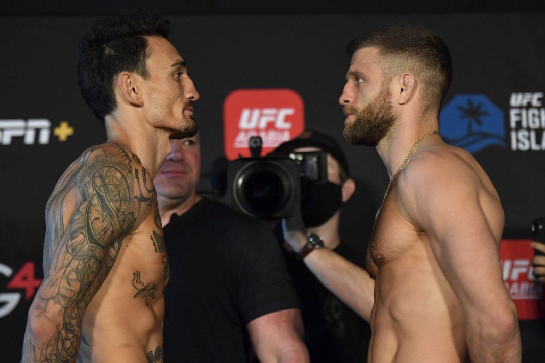 Результаты турнира UFC on ABC 1: Холлоуэй - Каттар