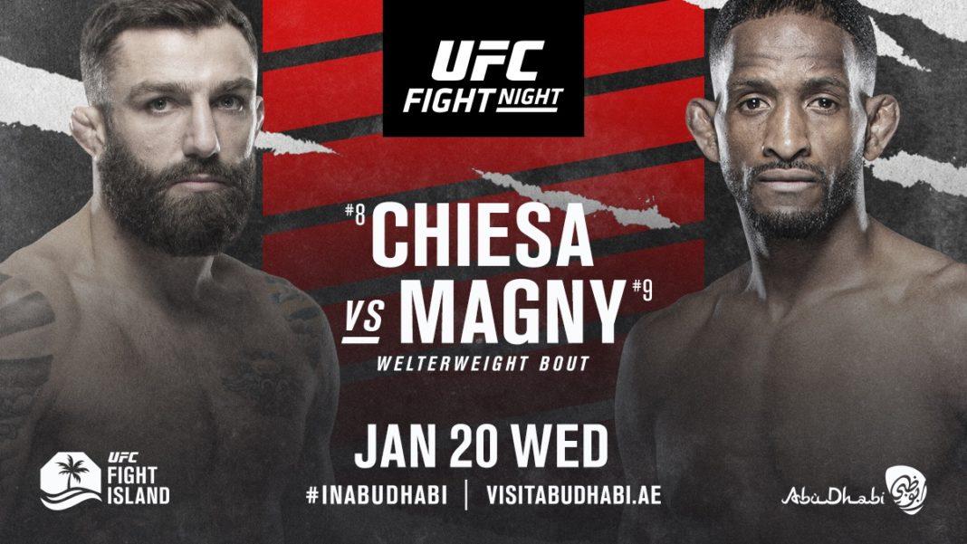 Кард турнира UFC on ESPN 20: Кьеса - Магни