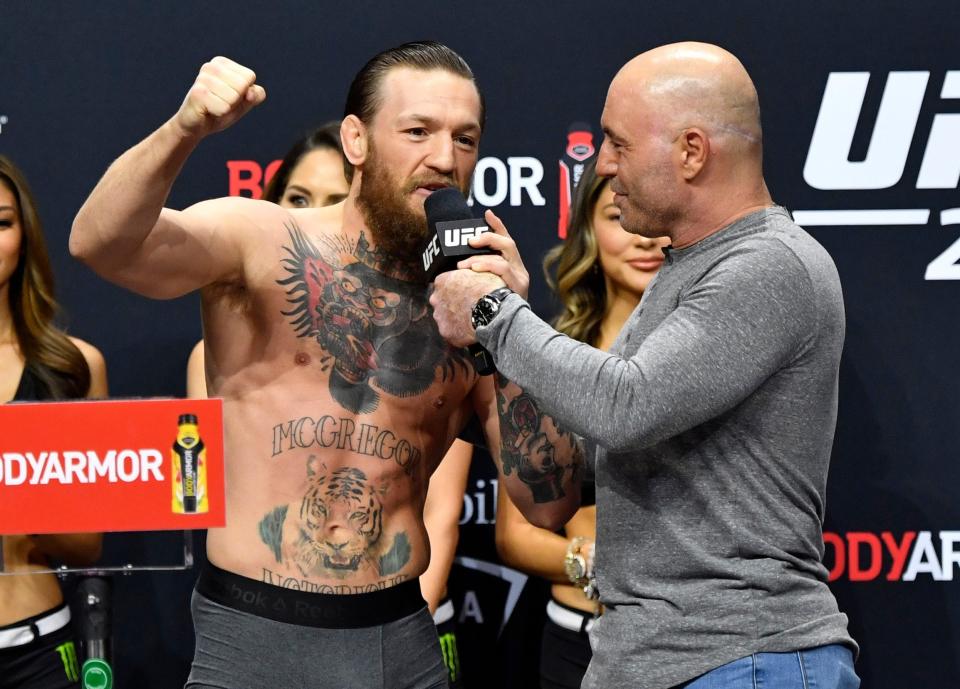 Джо Роган назвал лучшие варианты для продолжения карьеры Макгрегора в UFC
