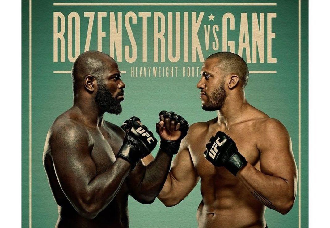 Кард турнира UFC Fight Night 186: Розенстрайк - Ган