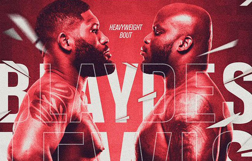 Кард турнира UFC Fight Night 185: Блэйдс - Льюис