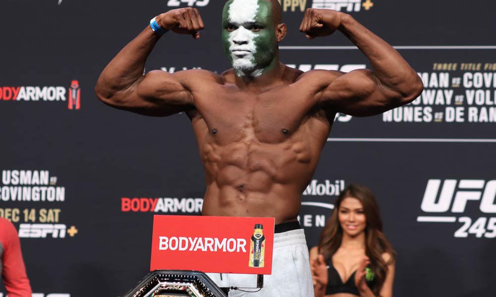 Результаты и видео взвешивания UFC 258: Усман - Бернс