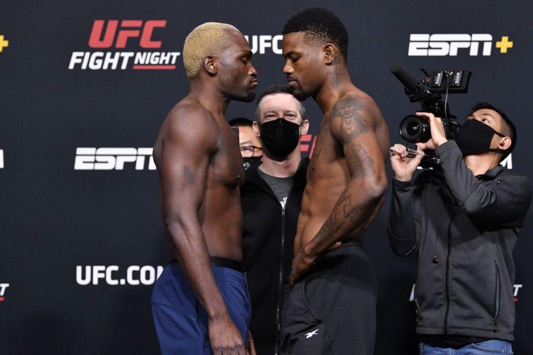 Результаты турнира UFC on ESPN 21: Брансон - Холланд