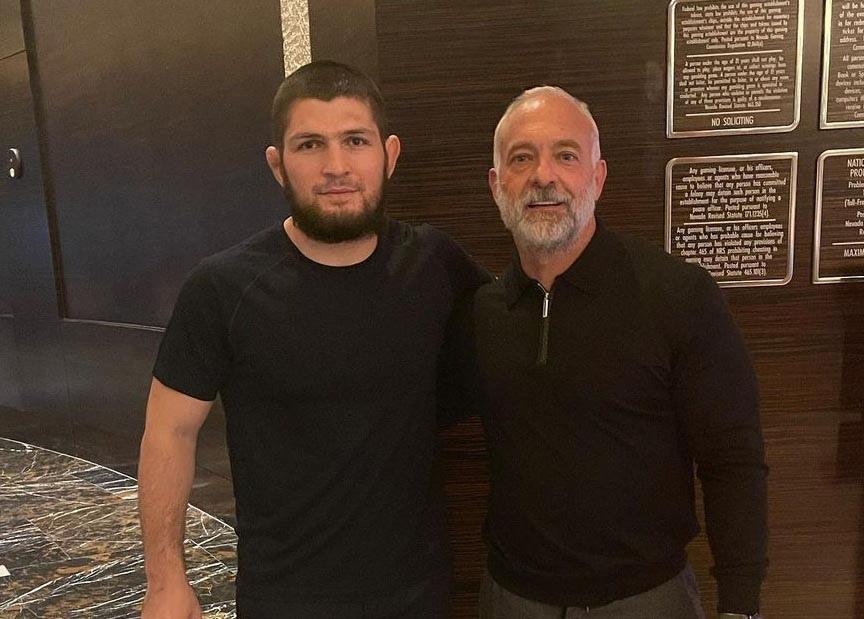 Хабиб Нурмагомедов провел встречу с бывшим владельцем UFC и обратился к Дане Уайту