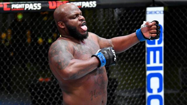 Деррик Льюис может получить титульный бой, если UFC не договорится с Джонсом о поединке с Нганну