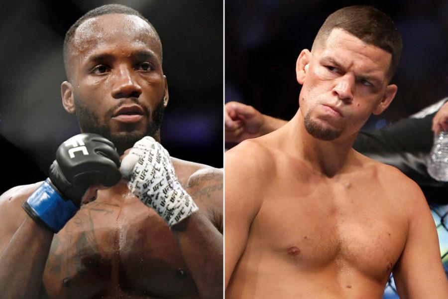 Леон Эдвардс и Нейт Диас проведут бой на турнире UFC 262