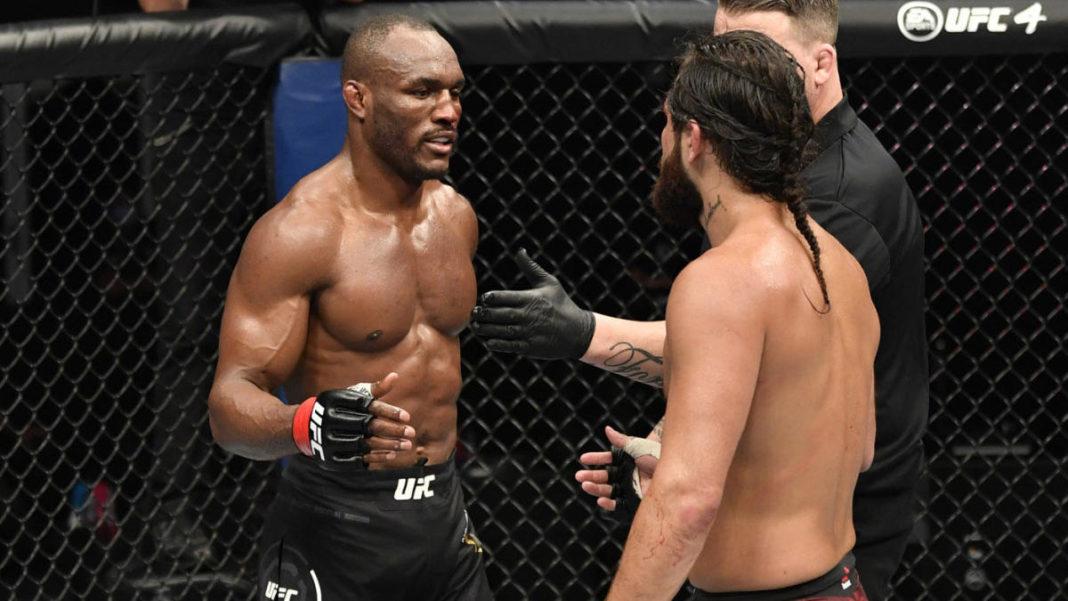 Реванш Камару Усмана и Хорхе Масвидаля возглавит турнир UFC 261
