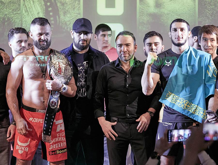 Результаты турнира AMC Fight Nights 100: Бикрев - Дазаев, Аббасов - Амиров