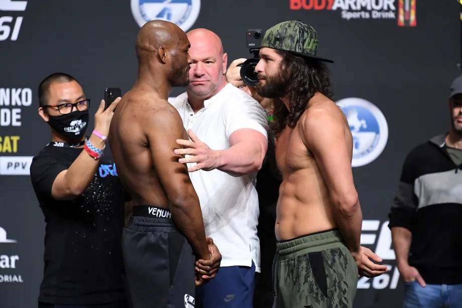 Результаты турнира UFC 261: Усман - Масвидаль 2