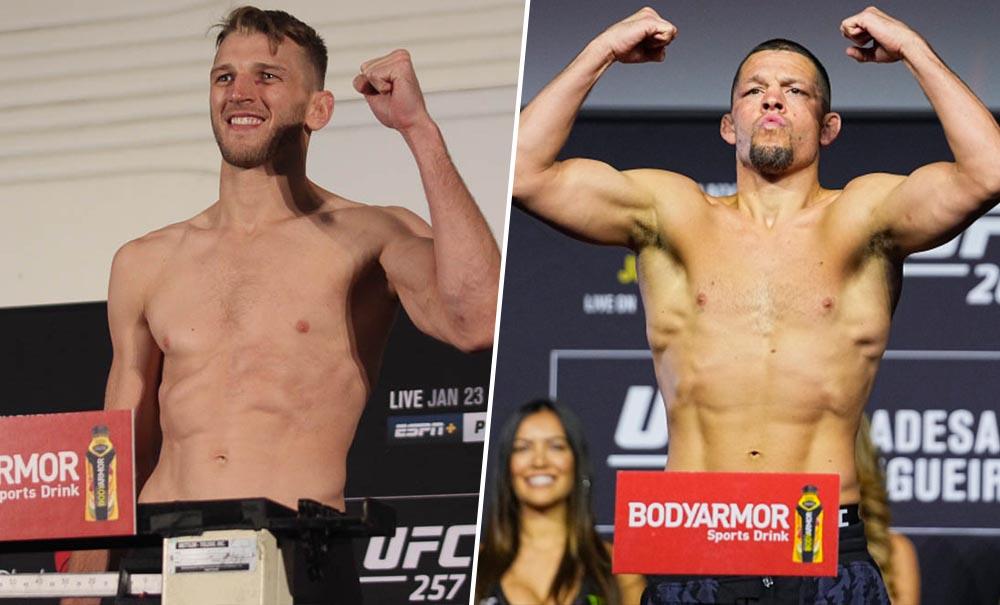 Дэн Хукер хочет подраться с Нейтом Диасом на турнире UFC 266