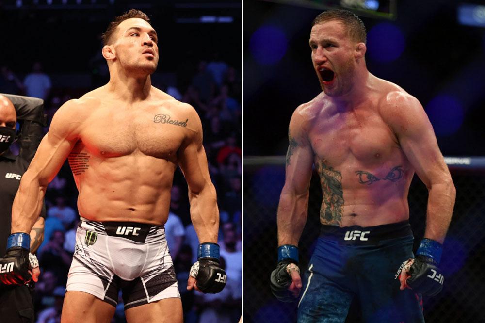 Джастин Гэтжи и Майкл Чендлер подерутся на турнире UFC 268