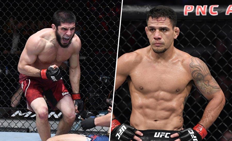 Ислам Махачев встретится с Рафаэлем Дос Аньосом на UFC 267