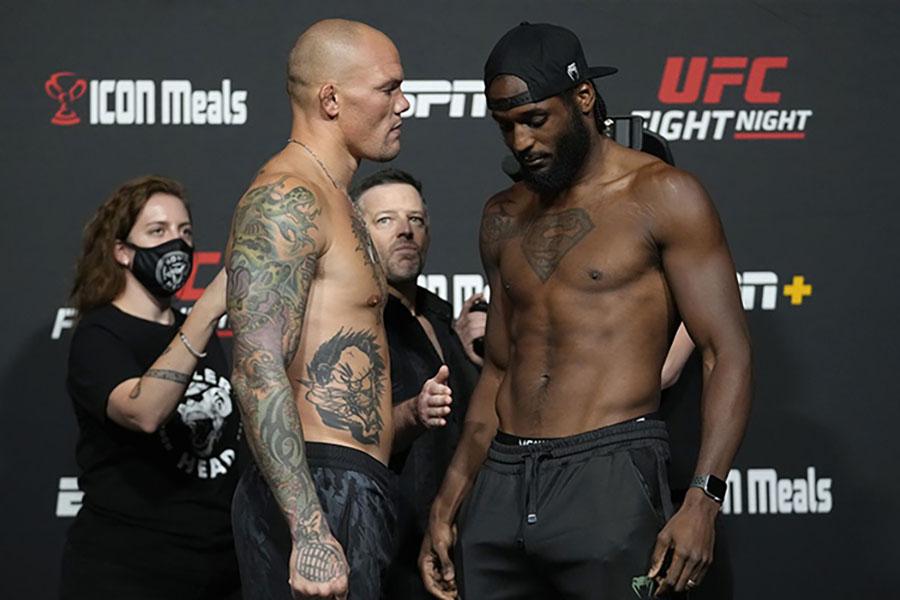 Результаты турнира UFC Fight Night 192: Смит - Спэнн