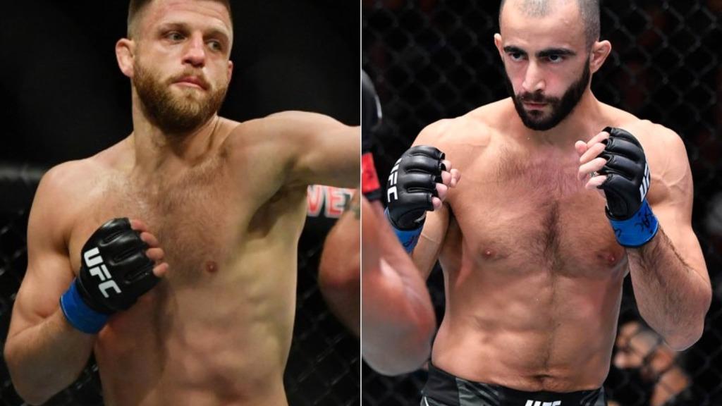 Бой Гиги Чикадзе и Келвина Каттара в разработке на первый турнир UFC в 2022 году
