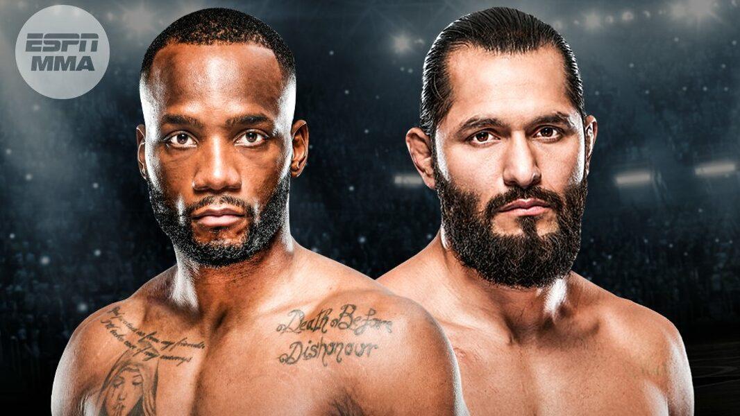 Хорхе Масвидаль подерется с Леоном Эдвардсом на UFC 269